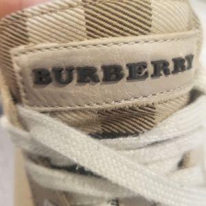 Burberry women's sneakers size 9 / 39